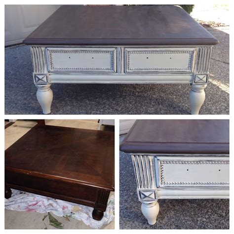 chalk paint ideas for coffee tables chalk painted sloan coffee table home decor