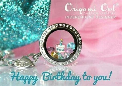 Origami Owl Birthday Locket Origami Owl