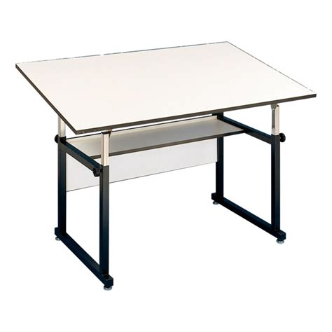 alvin workmaster drafting table workmaster drafting table shown w black base