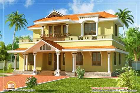 2 floor house march 2012 kerala home design and floor plans