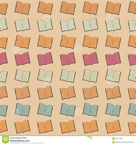 pattern picture books book pattern stock vector image of learning cover