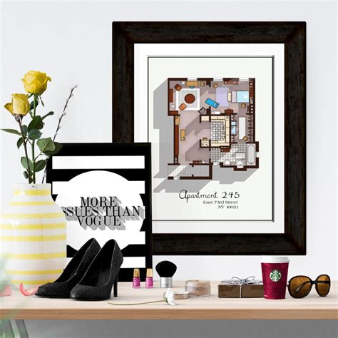 and the city apartment floor plan and the city apartment floor plan tv show floor plan