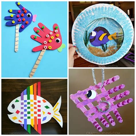 crafts for to make creative fish crafts for crafty morning