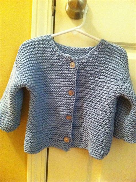 free garter stitch knitting patterns for babies garter stitch baby cardigan k crochet and knit