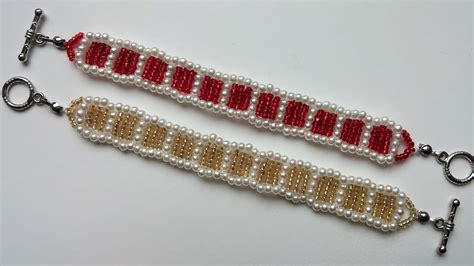beginners jewelry simple beaded pattern how to make beautiful bracelets at