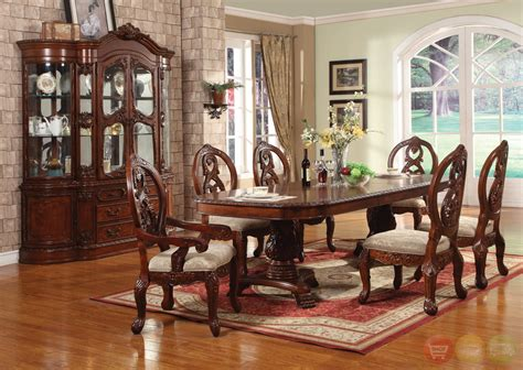 cherry wood dining room furniture cherry wood formal dining room sets myideasbedroom