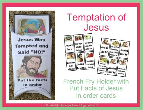 temptation of jesus crafts for jesus in the wilderness crafts just b cause