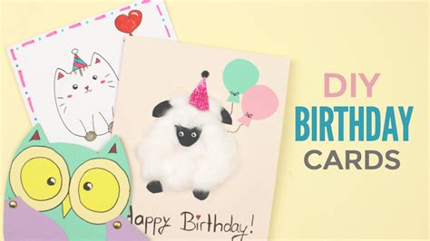 to make birthday cards diy birthday cards birthday mail dosomething org