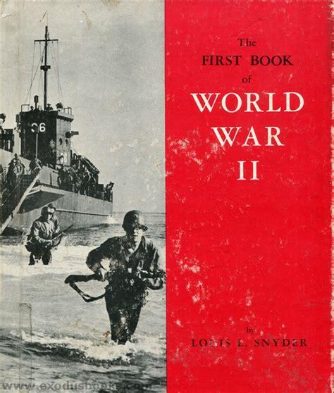 Book Of World War Ii Exodus Books
