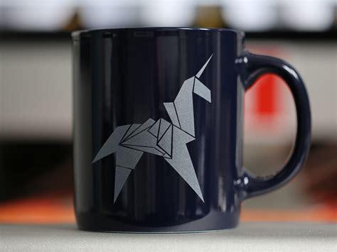 origami coffee mug origami unicorn mug last exit to nowhere