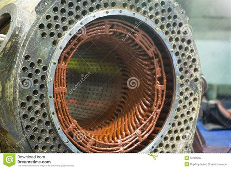 Big Electric Motor by Stator Of A Big Electric Motor Stock Photo Image 50782380
