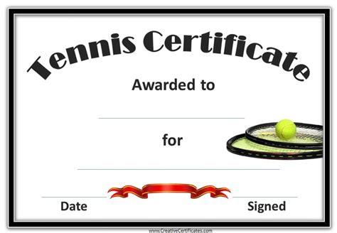 blank award templates free tennis certificate templates customizable amp printable