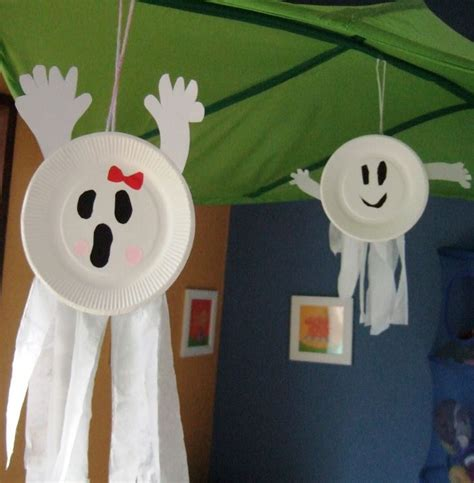 paper plate ghost craft best 25 easy crafts ideas on