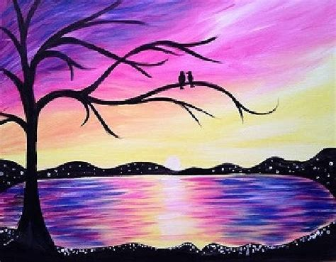 paint nite island paint nite fundraiser sunset