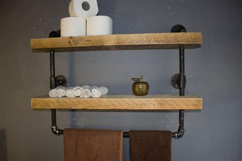 shelves for bathroom industrial pipe shelf bathroom shelves kitchen by