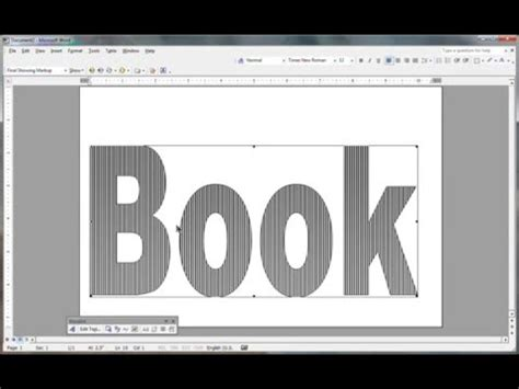 make a picture book free book folding pattern in msword