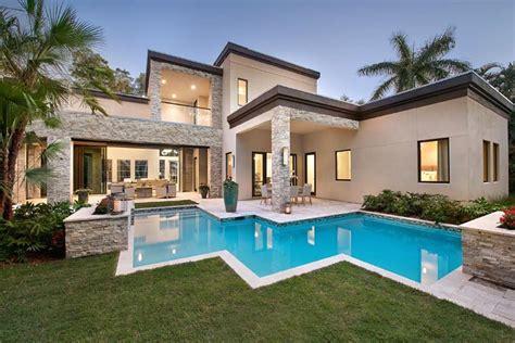 modern florida house plans contemporary modern house plan 71535