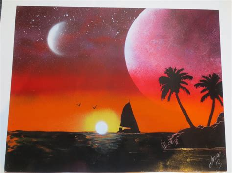 paradise spray paint by ben rabine how to spray paint for beginners spray paint for