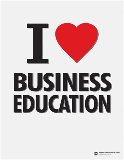 education business i business education