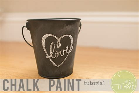 chalkboard paint tutorial chalk paint tutorial