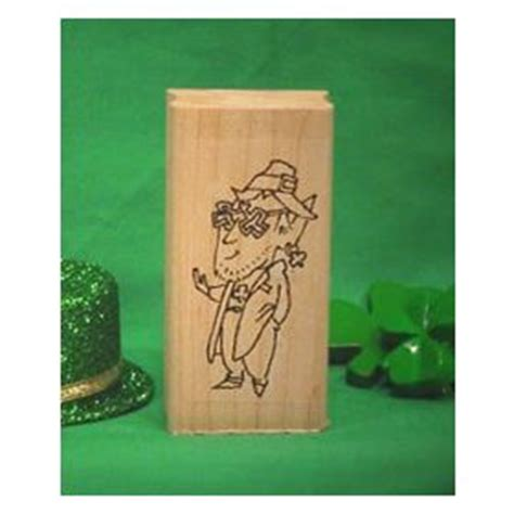craft rubber st leprechaun with glasses st buy st s day