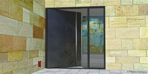 steel doors with glass modern steel doors custom pivot doors glass doors