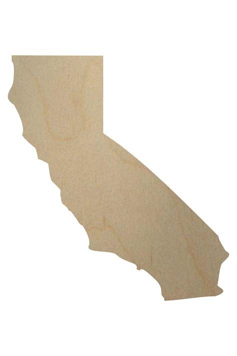 california woodworking california state wood shape california wood cutout