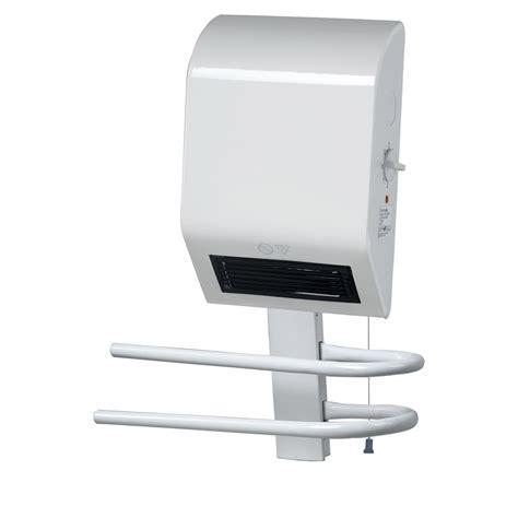 radiateur soufflant salle de bain fixe 233 lectrique triomph bh1600gk 1600 w leroy merlin