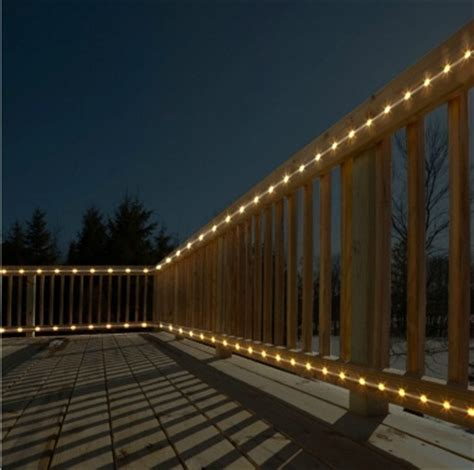 rope lights for decks led rope light ropes and led on