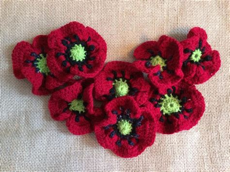 how to knit a poppy flower august flower of the month poppy knitting crochet patterns