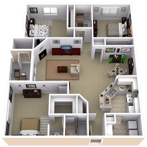 house design layout small bedroom best 25 apartment floor plans ideas on