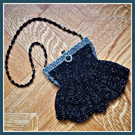 beaded purse tutorial how to knit a purse with antique style cut glass