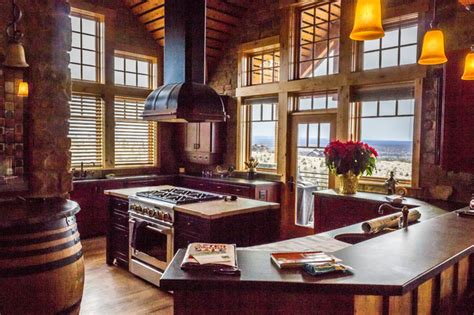 international home interiors brasada ranch style homes traditional kitchen other by western design international