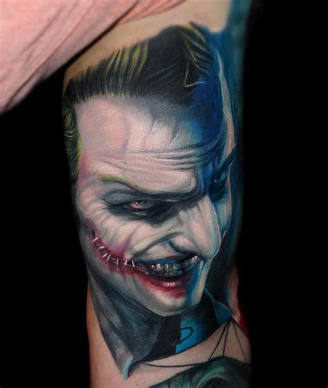 evil joker arm tattoo best tattoo design ideas