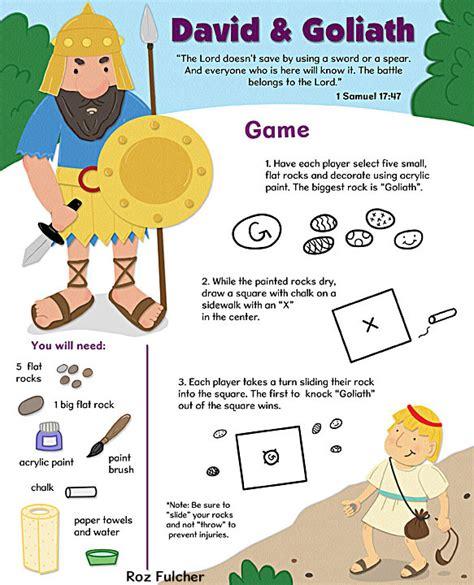 david and goliath crafts pbjunkies david goliath