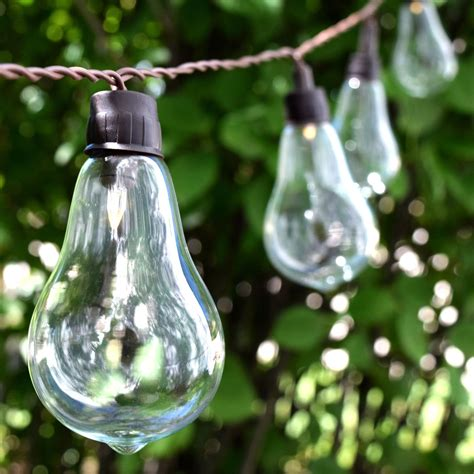 garden string lights triyae solar outdoor lights string various design