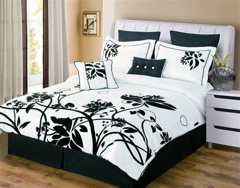 white and black bed set black and white bedding sets the comfortables