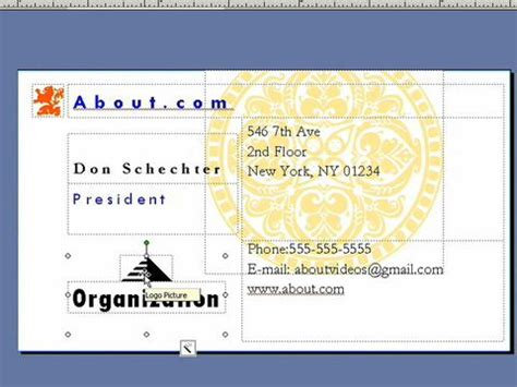 how to make business cards in publisher business card financial company theme istudio publisher
