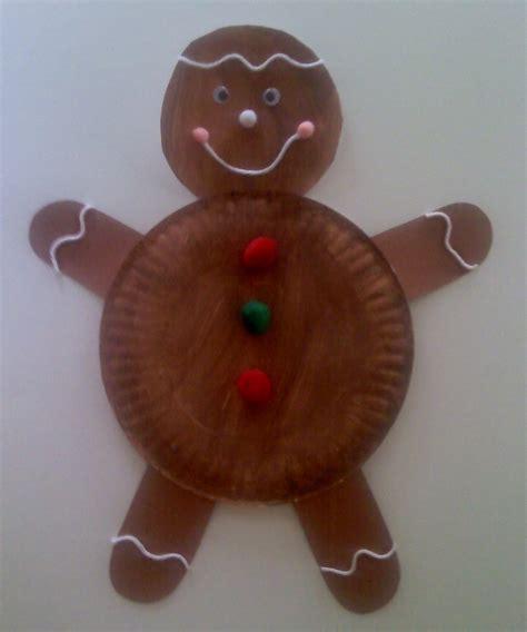 paper plate craft ideas for preschool crafts for preschoolers paper plate gingerbread