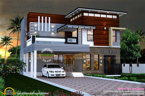 plan home design eterior design modern small house architecture building