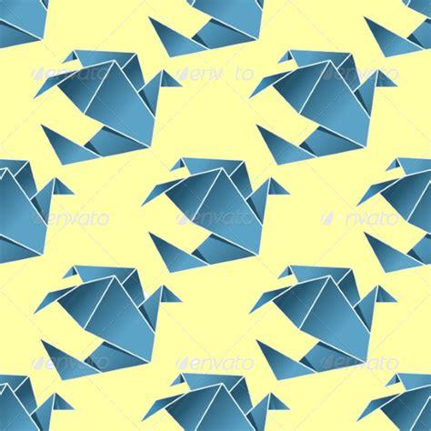 origami bird template 20 seamless bird patterns psd vector eps jpg