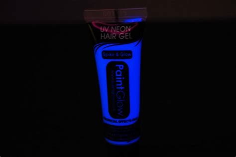 glow in the paint usa paint glow uv blacklight reactive hair gel fast usa