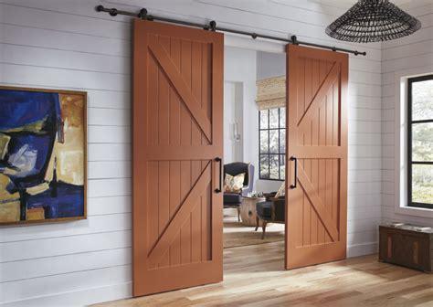interior barn style doors barn doors custom interior doors trustile