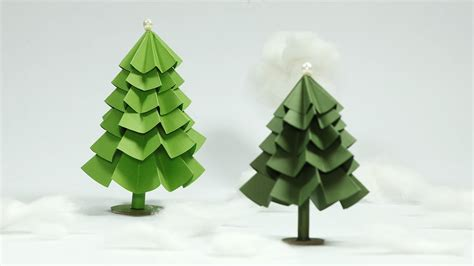 paper craft tree paper tree craft diy tree tutorial