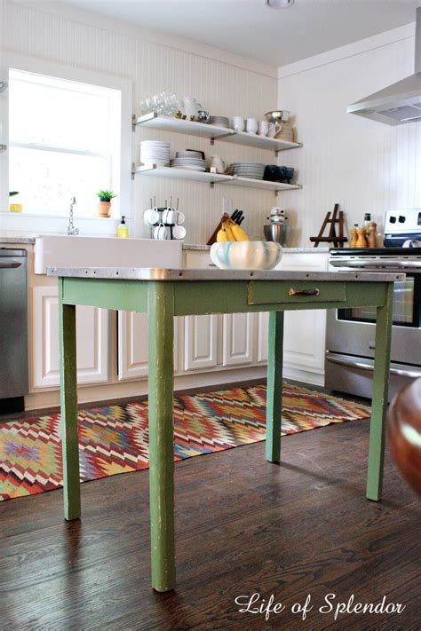 farm table kitchen island kitchen progress thewhitebuffalostylingco