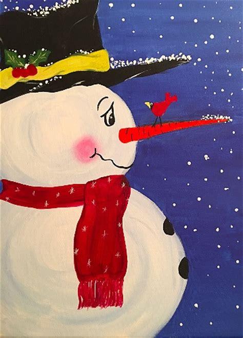 paint nite snowman paint nite the snowman s hat