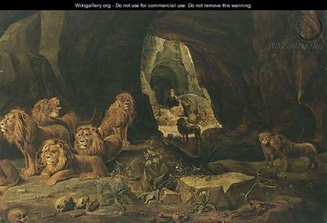 den painting daniel in the lions den antwerp school wikigallery org