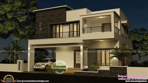 house plans in kerala with 4 bedrooms 4 bedroom modern house with plan kerala home design and