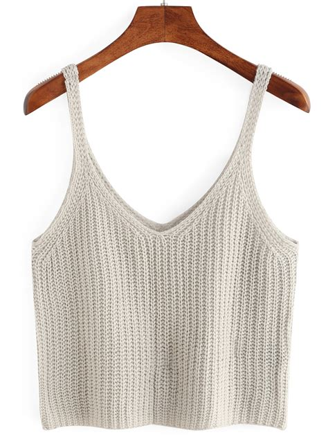 knitted tank top knitted crop tank top makemechic