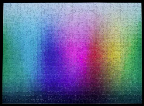 a 1 000 cmyk color gamut jigsaw puzzle by clemens